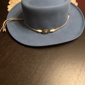 Vintage The Scala Collection western wool felt hat